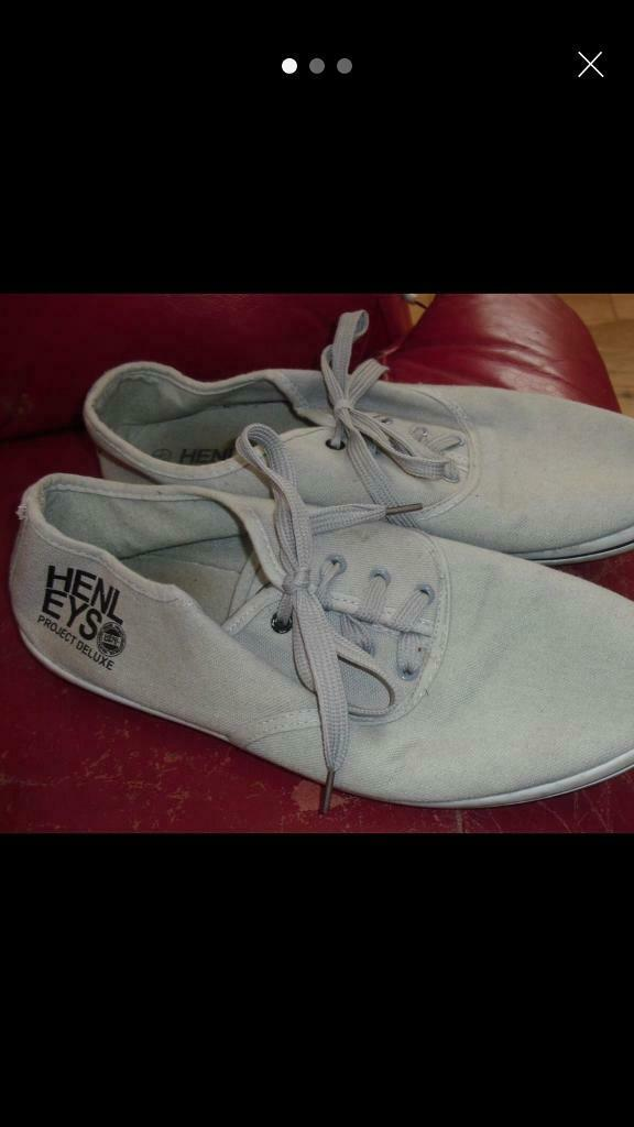 f1e1cf7b729 SIZE 8 PAIR OF MENS HENLEY'S STONE LACE UP PUMPS | in Sheffield, South  Yorkshire | Gumtree