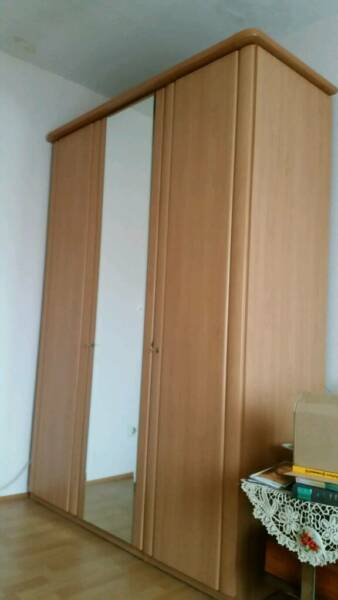 kleiderschrank dreit rig buche hell in baden w rttemberg hockenheim ebay kleinanzeigen. Black Bedroom Furniture Sets. Home Design Ideas