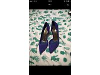 Electric Blue Ted Baker Heels