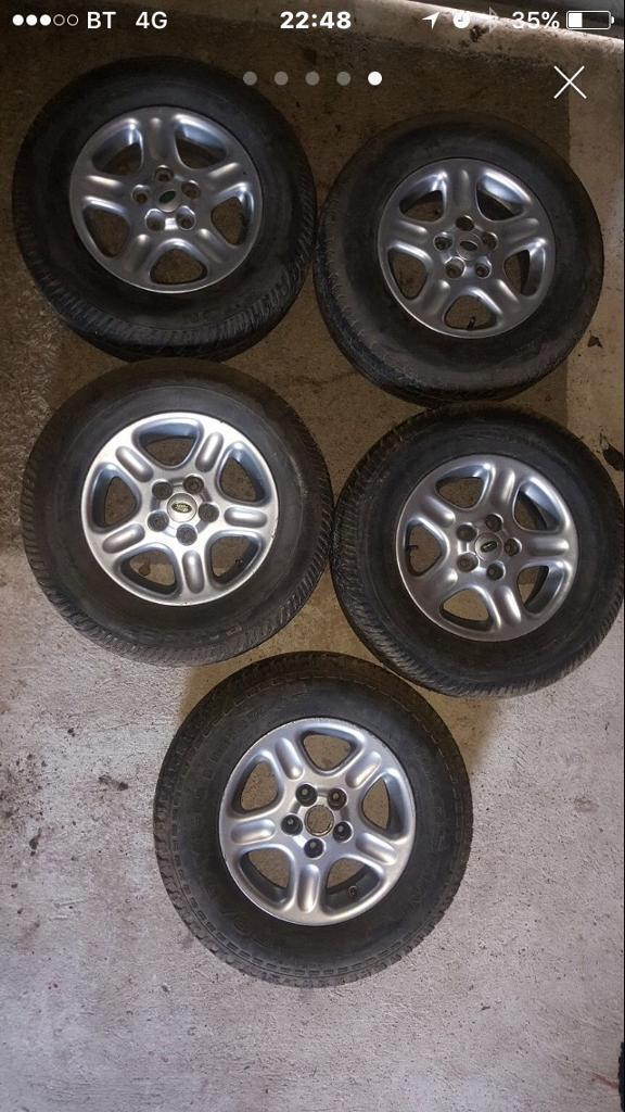 "Offers! 5 freelander wheels 15"""