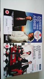 ashes to ashes series one and two,excellent condition