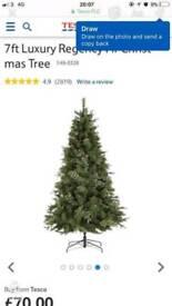 7 foot luxury Christmas tree