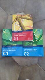 Edexcel AS & A Level Modular Mathematics Statistics C1, C2, S1