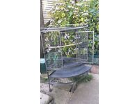 windsor corner parrot cage, good condition. only selling as partot has grown.