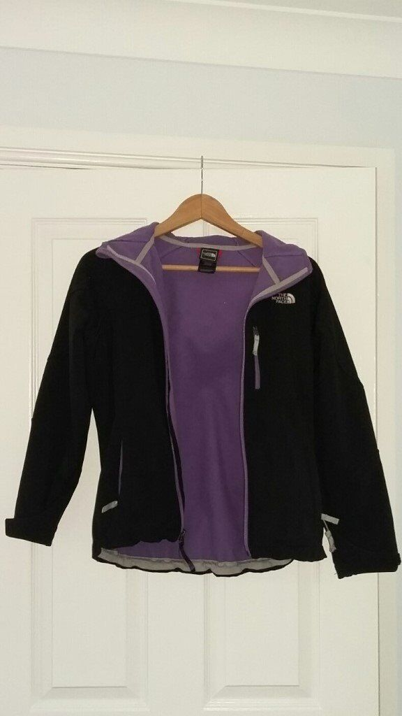 Girls North Face soft shell jacket
