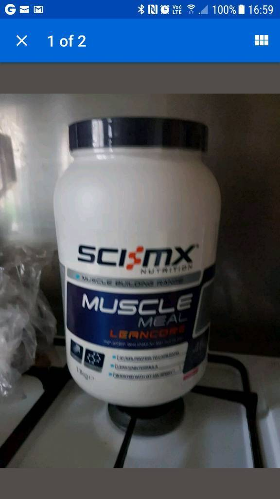 Muscle meal lean core strawberry flavour