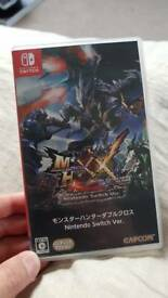 Selling Monster Hunter XX for Nintendo Switch