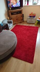 Red rug £10