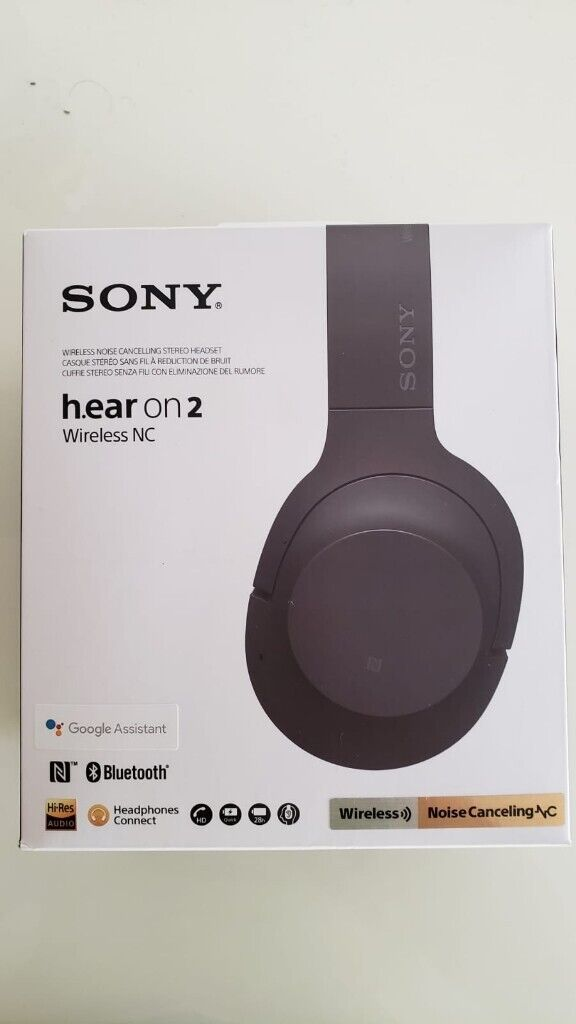 3ee9faa585a Sony WH-H900N h.ear on 2 Wireless Noise Cancelling HEADPHONES