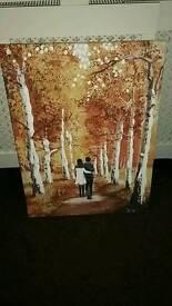 Lovely autumn canvase