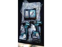 Makita XT248 18V LXT Lithium-Ion Brushless Cordless 2-Pc. Combo Kit