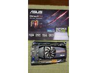 Asus Geforce 650GTX (1GB) PCI-e PC Graphics Card.