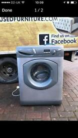 Silver 7kg washing machine £90
