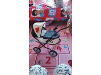 Mama and Papas dolls pram