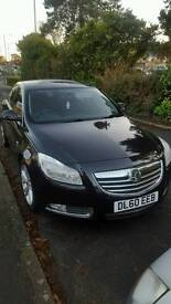 Black Vauxhall insignia Sri with sat nav 2011