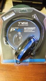 playstation 4 headset .new