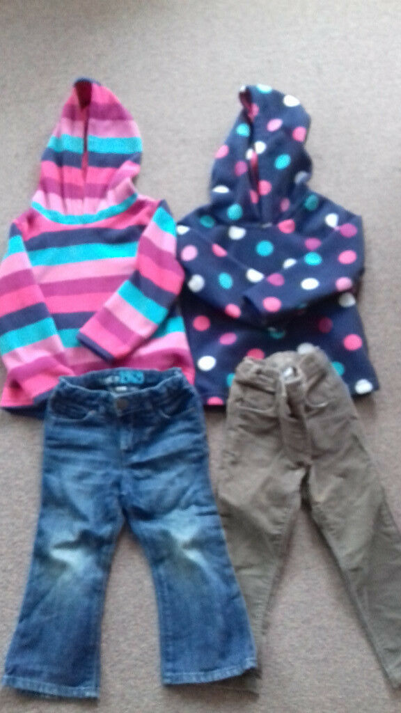 Fleecy tops and trousers