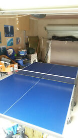 Ping Pong table for sale. Indoor outdoor model in perfect condition