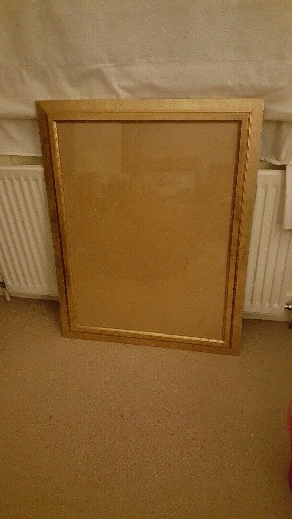 Large Gold Tone Picture Frame