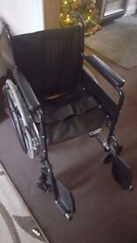 Self assisted wheelchair. Excellent condition.