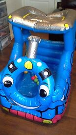 Thomas the tank engine inflatable ball pit