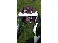 Chicco attachable high chair