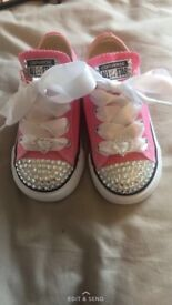Childrens Blinged Up Converse