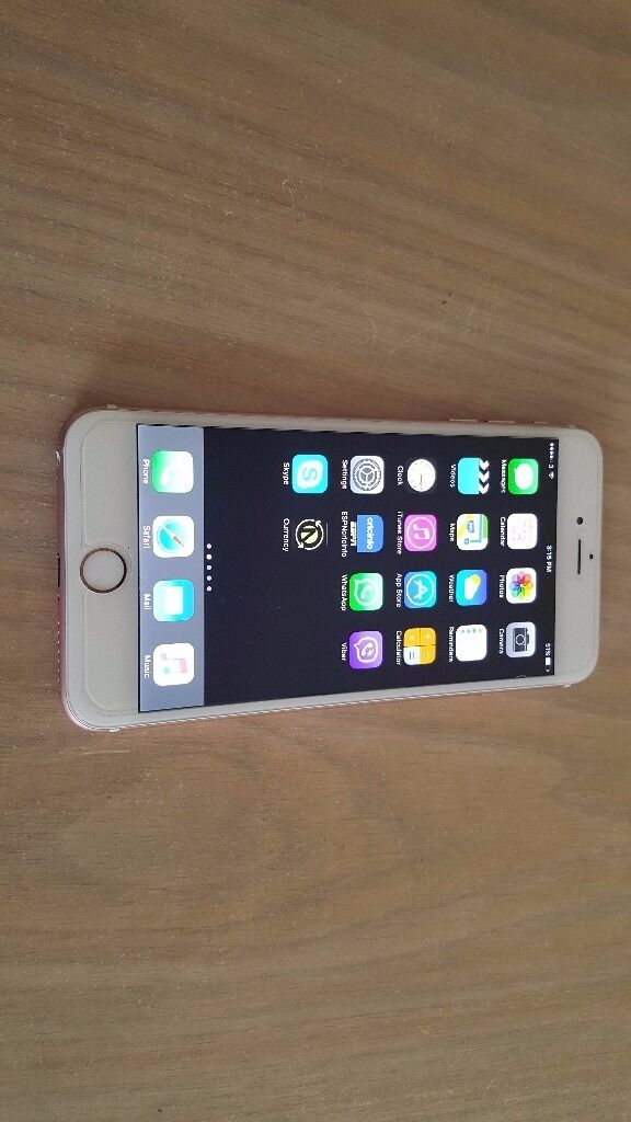 iPHONE 6S PLUS 16 GB GOLD UNLOCKED GREAT CONDITION WITH CHARGER ONLY320in Romford, LondonGumtree - iPHONE 6S PLUS FOR SALE 16 GB ROSE GOLD WITH CHARGER FACTORY UNLOCKED TO ALL NETWORKS VERY GOOD CONDITION FIRST TO SEE WILL BUY ONLY £320 NO OFFERS THANKS