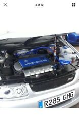 VW POLO 2.8 VR6 SLEEPER CUSTOM. Not R32. Gti rs sti track car race drag sport