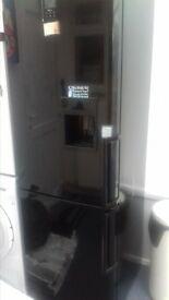 samsung black fridge freezer