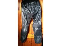Motorbike Leather & Textile trousers & Jackets