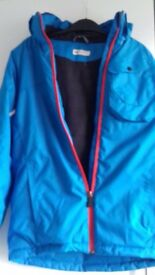 Age 11/12 H &M warm padded coat, blue. Immaculate condition.