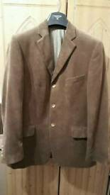 Brown Cord Tailored Jacket