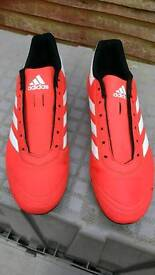 Adidas Football Boots size 7 in Solar Red