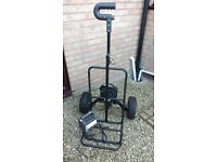 PowaWalker Cargo 2-Wheel Electric Trolley used with charger & battery