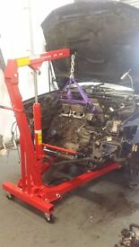 Engine hoist / engine crane for hire - 1 ton