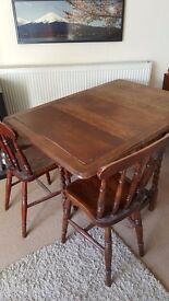 Vintage / Antique Dining Table & Chairs