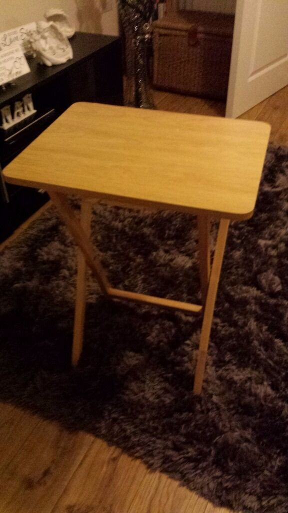 Small sofa tablein Plymouth, DevonGumtree - Small table for when sitting on sofa ..space saving.... great condition 2 available collection for the vision devonport £5.00 each