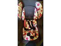 Baby weaver car seat