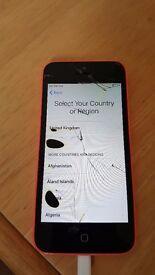 Iphone 5c Pink 8gb EE