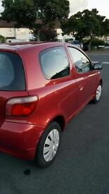 Toyota Yaris 1.0 2003 Manual 3 doors Red Low mileage