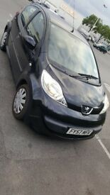 PEUGEOT 107 1.0 5 DR 2007 *SERVICE HISTORY *£20 ROAD TAX A YEAR *IDEAL FIRST CAR *CHEAP INSURANCE