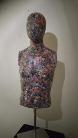 Male Covered Mannequin