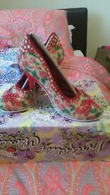 New. Irregular choice heels. Size 5.