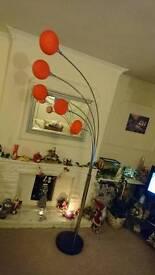 Danalight Lounge 5 Light Floor Lamp Orange