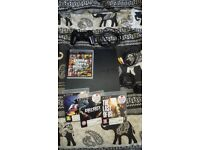 PS3 (PlayStation 3) slim with games gta 5 and last of us