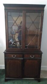 Two beautiful Antique Mahogony wood cabinets with Dressers