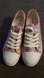 Cath Kidston canvas shoes 7 new