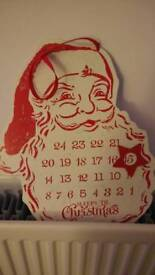 Christmas countdown decoration