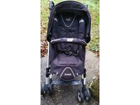 Push Chair with 2 car seats